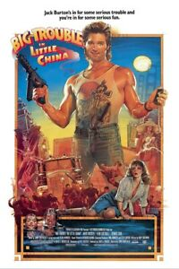 """Big Trouble In Little China - Movie Poster (Regular Style) (Size 24"""" X 36"""")"""