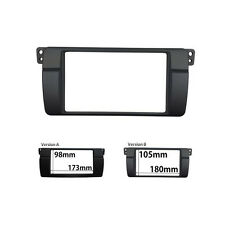 Double Din Radio Fascia for BMW 3 Series E46 1998-2006 Stereo Panel Face Frame