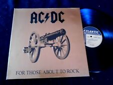 AC/DC FOR THOSE ABOUT TO ROCK/FRENCH PRESS 1981 /ML
