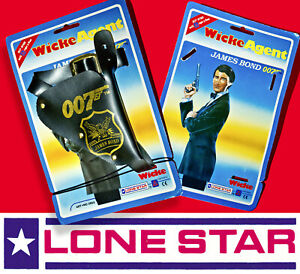 1 ☆ LONE STAR WICKE JAMES BOND 007 HOLSTER ☆ FOR WALTHER PP TOY CAP GUN 1990s