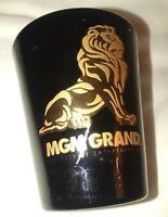 Vintage souvenir shot glass - MGM Grand Las Vegas Hotel Resort Casino