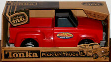 New Tonka Vintage Steel Classic Red Pick Up Truck 2014 Vehicle Car Kids Toy Play