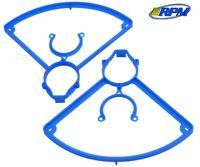 RPM 72045 Prop Guards for LaTrax Alias Quadcopter (2) Blue