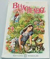 BLANCHE-NEIGE de Grimm. éd. Del Duca 1962. Conte de fées ill. par Sergio Molino