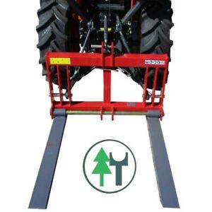 Palettengabel Lift2000 700kg Kubota Iseki Heck Stabler für Kleintraktoren