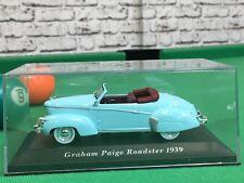 GRAHAM PAIGE ROADSTER 1939 BLUE ALTAYA 1/43 SCALE BNIB MINT
