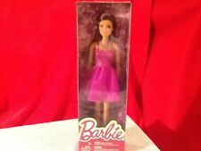 1 NIB 2015 BARBIE DOLL Purple Dress Ballerina