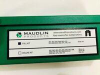 """MAUDLIN PRODUCTS MSA2-SHK Slotted Shim Asst,SS,2/"""" L x 2/"""" W,80 pcs."""