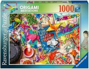Ravensburger Origami Meditations 1000 Piece Jigsaw Puzzle
