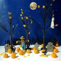 DEPT 56 Snow Village Halloween HALLOWEEN VILLAGE SET!  24 PIECES!