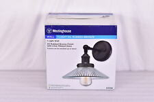 Westinghouse Lexington 1-Light Wall Mount Sconce in Oil Rubbed Bronze Finish