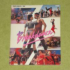 BREAKDANCE [1984/Breakin] - RARE 1984 JAPAN VHD VIDEO DISC (V088-5009) LaserDisc