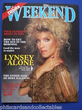 Weekend Magazine - Lynsey De Paul, Johnny Briggs, Maria Whittaker 29th May.1985