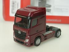 Herpa Mercedes Actros Bigspace 2a Zgm., weinrot - 159500-007 - 1:87