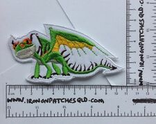 Iron On Patch How To Train Your Dragon Terrible Terror 11cm x 6cm Applique B11