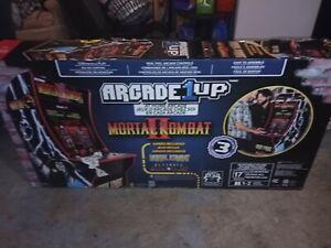mortal kombat arcade machine arcade1up WITH RISER
