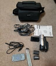 Sony Handycam Dcr-Dvd108 Camcorder With Case Cables Dvds Remote Tripod Booklet