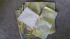 6 Cream Cushion Cover zip close geometric shapes Print 44x44 BNWOT free post E34