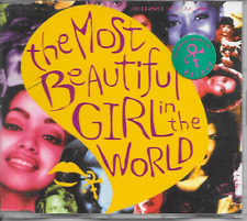 PRINCE - The most beautiful girl in the world (STICKERED CASE!) CDM 2TR Holland