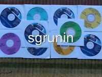 10 CDG DISCS BEST OLDIES & R&B KARAOKE WHITNEY HOUSTON,LUTHER VANDROSS,SINATRA