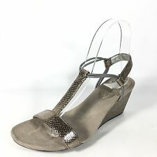 Style & Co Unknown Size(8in Length) Metallic Golden Sandal Wedge
