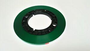 """NEW RTM BASF 1/4"""" 250m 820ft Green Leader Tape Reel Recorder R39102"""