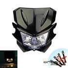 Universal Motorcycle H4 Head Light Dual Sport for YAMAHA Street Fighter Dirtbike