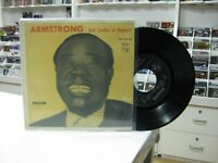 "Louis Armstrong 7 "" EP Single Spanisch Indiana + 3. 1960 Und Kondom At NEWPORT"