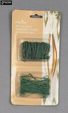 Premier Decrorations Ornament Hooks Green Twin Pack Christmas Ornament Home New