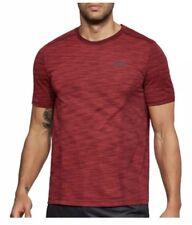 Men's Under Armour Threadborne Seamless T-Shirt Pierce Red M Medium