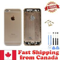 Gold Back Housing Mid Frame Assembly Replacement for iPhone 6 A1549 A1586 A1589
