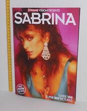 SABRINA SALERNO 2017 Photo Book + 100 pics busty SUPER MEGA HOT + poster rare