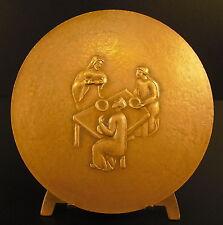 Médaille Fraction du pain, Jean Guitton philosophe catholique académicien medal