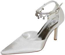 Hbh Satine-zapatos de novia, con pedrería y joyas de piedra, el cuero con tiras, 8cm párrafo
