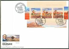 GUINEA 2013 110th ANNIVERSARY OF THE HARLEY DAVIDSON MOTORCYCLE SHEET  FDC