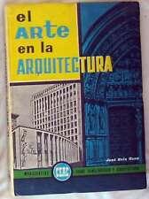 EL ARTE EN LA ARQUITECTURA - MONOGRAFÍAS CEAC CONSTRUCCION - VER ÍNDICE