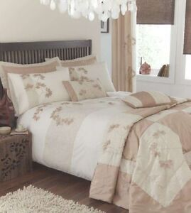 ORGANIC NATURAL CREAM IVORY GOLD CUSHION COVER CATHERINE LANSFIELD