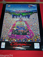 """MINT Melanie Taylor Kent's 1984 Commissioned poster, """"THE OLYMPIC EXPERIENCE!"""""""