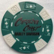 Carolina Coast Harley-Davidson® in Wilmington, NC Poker Chip Green/White NEW
