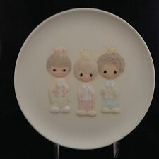 "Vintage Precious Moments ""We Three Kings"" Limited Edition Collector Plate w/box"