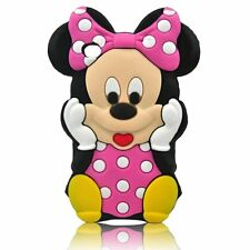 For IPod Touch 4 3D Minnie Mouse Soft Silicone Case Cover - B/P