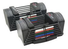 PowerBlock Sport 24 Adjustable Dumbbells - 3-24 lbs. - NEW! - 1 Pair