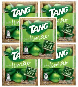 TANG Suco Sabor Limao 25 grs. - 5 PACK   Lemon Flavor 0.88 oz.