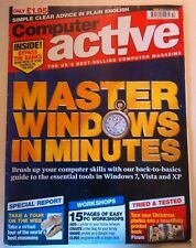 Computer Active Magazine Issue 336 Jan 2011 Master in minutes Windows 7 Vista XP
