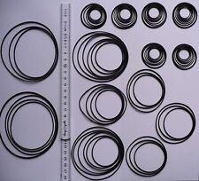 80 x Rundriemen-Sortiment für Tapedecks und CD-Player rubber belt assortment kit
