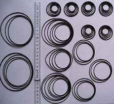 80 Stück Rundriemen, Riemensortiment, Riemenset, Quality round rubber belt kit