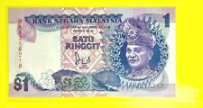 MALAYSIA $1 Ringgit 2nd Series Currency (UNC)