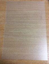 2x A4 MATT CLEAR (FROSTED) Polypropylene Plastic Sheet 0.5mm Model Making, Craft