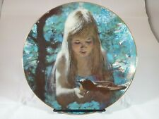 Dawn Collector Plate Precious Moments Collection Artist Thornton Utz