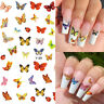 3D Nail Stickers Butterfly Series Transfer Decals Nail Art Paper Decoration Tips